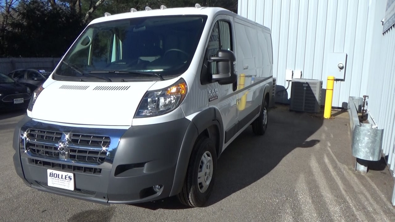 2018 ProMaster 1500 Standard Roof FWD,  Empty Cargo Van #JE150340 - photo 7