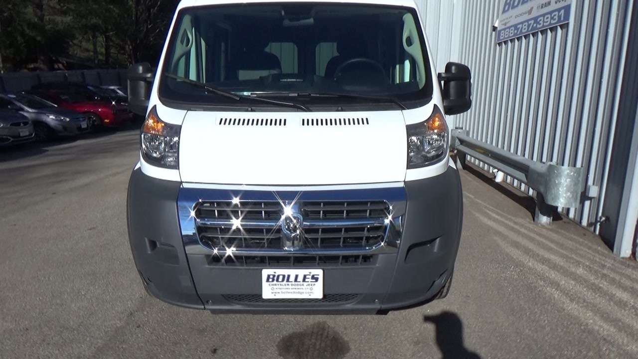 2018 ProMaster 1500 Standard Roof FWD,  Empty Cargo Van #JE150340 - photo 8