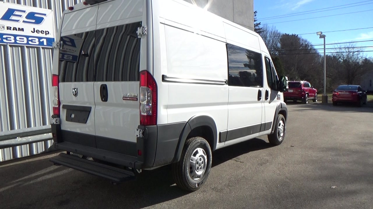 2018 ProMaster 1500 High Roof FWD,  Empty Cargo Van #JE150341 - photo 4