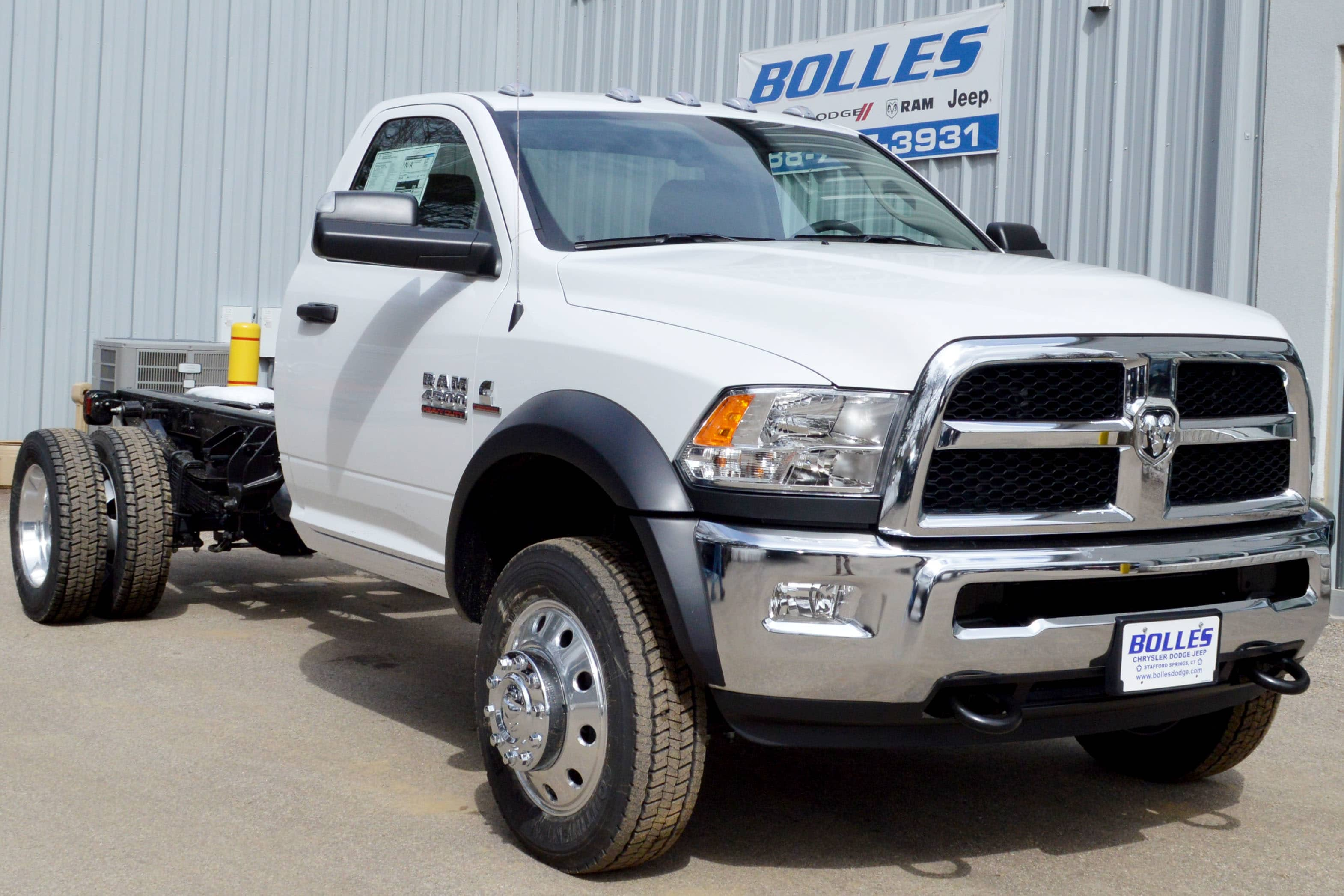 2018 Ram 4500 Regular Cab DRW 4x4, Cab Chassis #JG234062 - photo 1