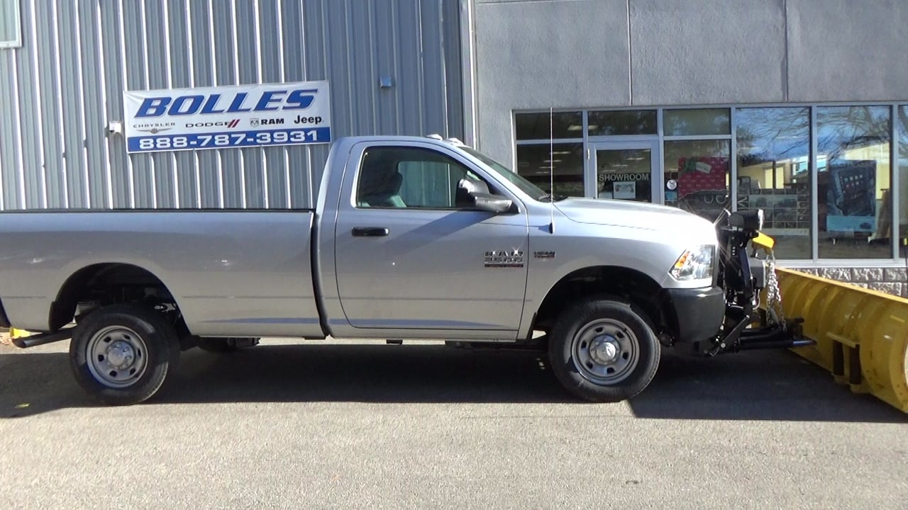 2018 Ram 2500 Regular Cab 4x4,  Fisher Pickup #JG364349 - photo 3