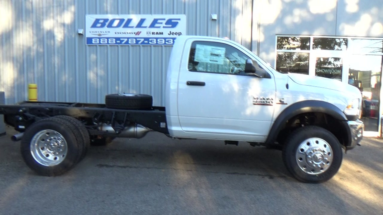 2018 Ram 4500 Regular Cab DRW 4x4,  Cab Chassis #JG407083 - photo 2