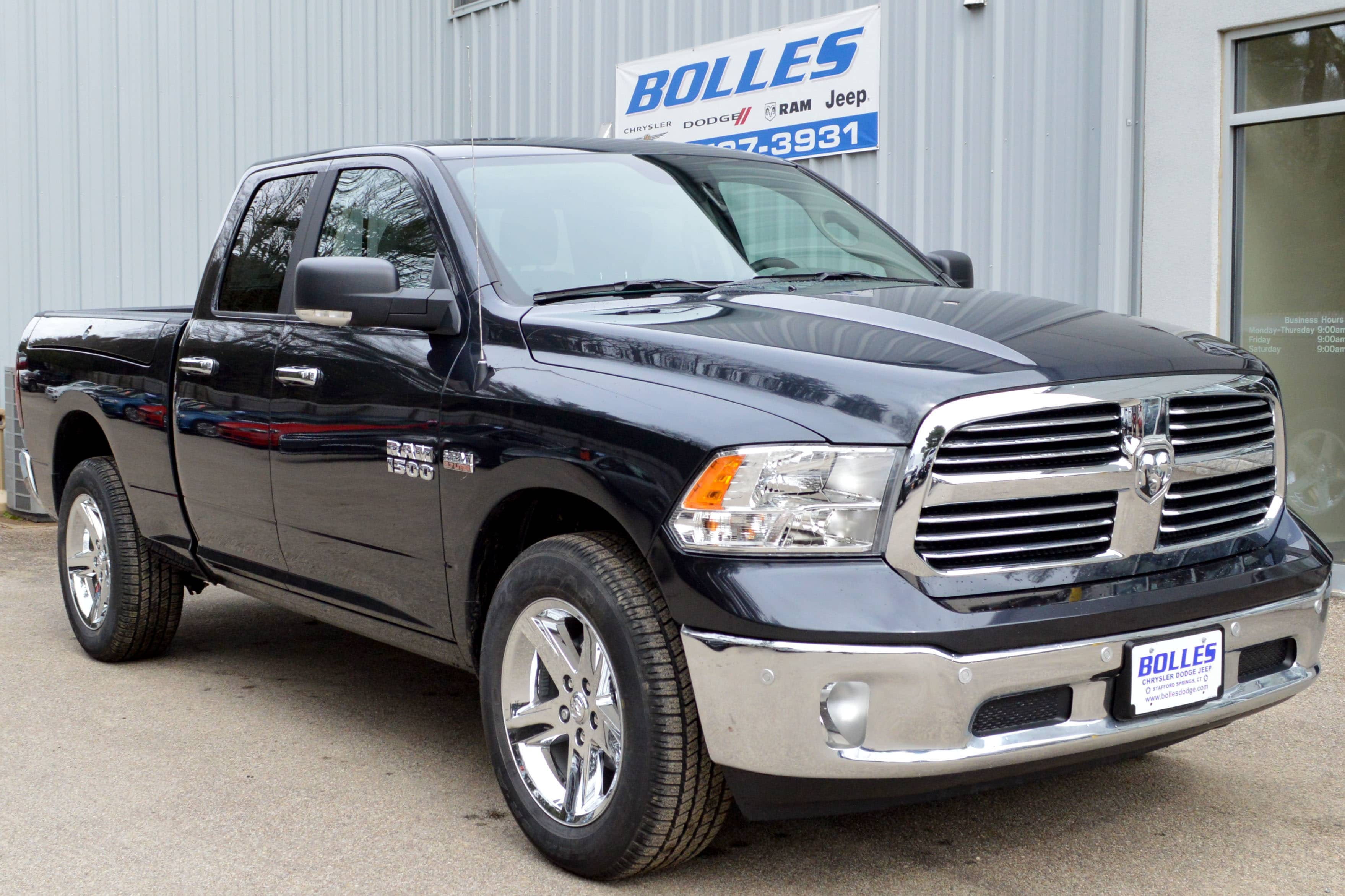 2018 Ram 1500 Quad Cab 4x4, Pickup #JS205634 - photo 1