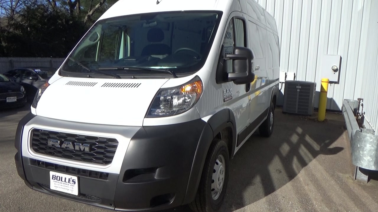2019 ProMaster 2500 High Roof FWD,  Empty Cargo Van #KE503515 - photo 10