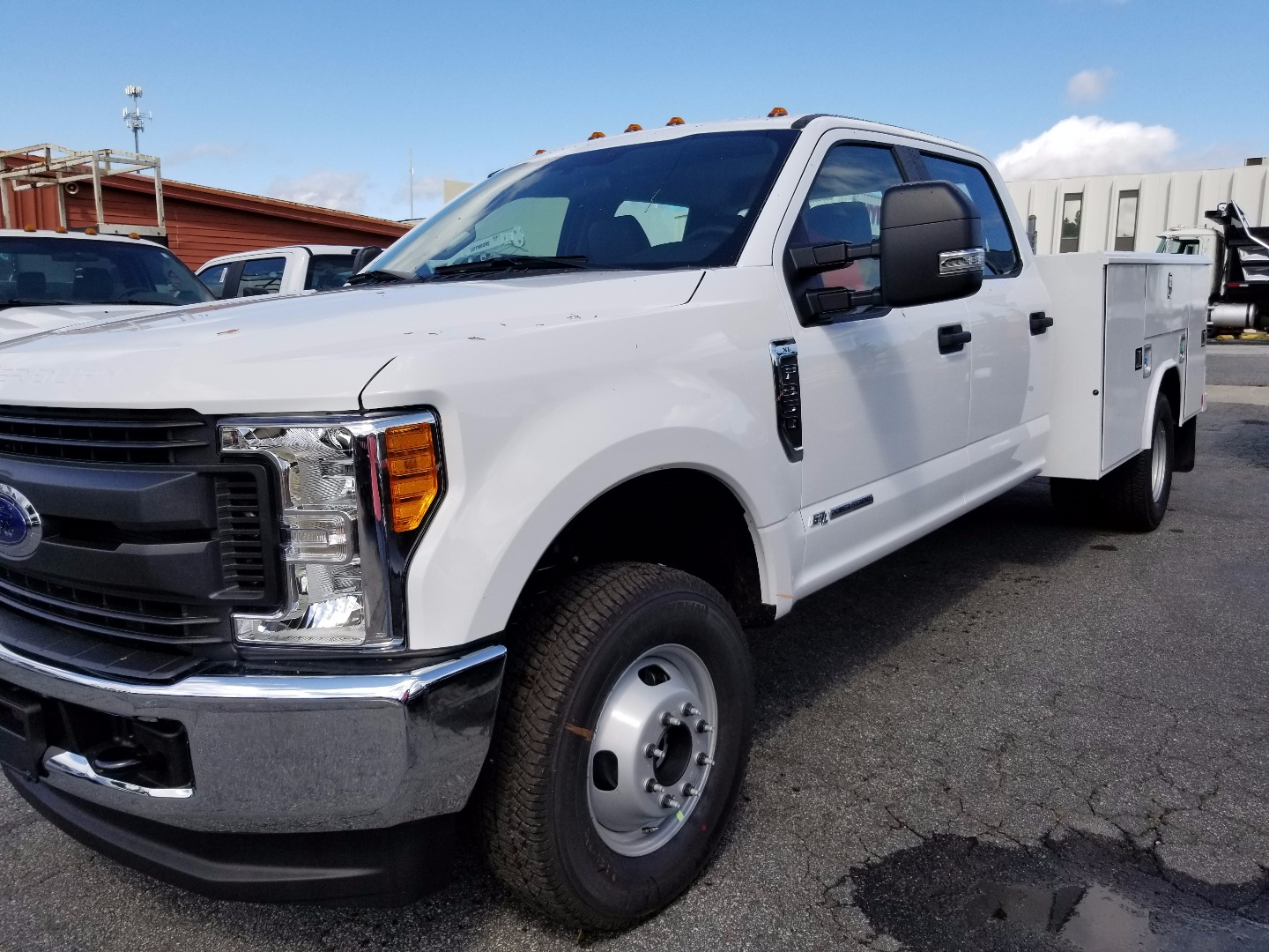 2017 F-350 Crew Cab DRW 4x4, Service Body #1184 - photo 1