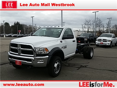 2018 Ram 5500 Regular Cab DRW 4x4, Cab Chassis #8RA10475 - photo 1