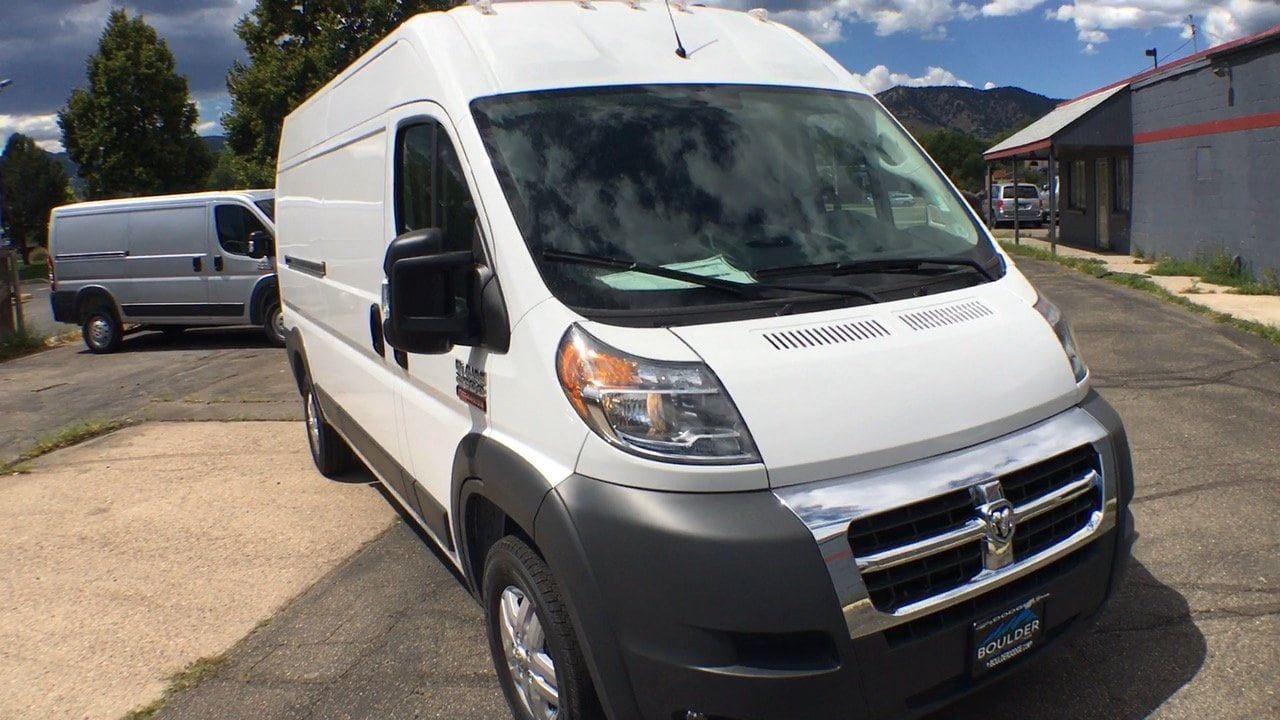 2017 ProMaster 3500 High Roof Cargo Van #15247 - photo 9