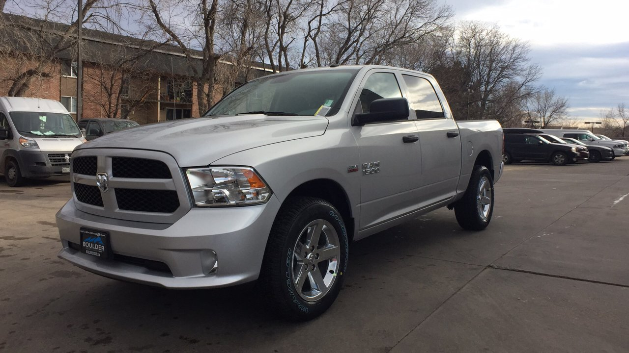 2018 Ram 1500 Crew Cab 4x4, Pickup #15375 - photo 1