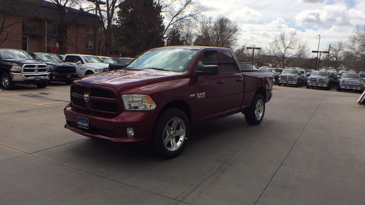 2018 Ram 1500 Quad Cab 4x4,  Pickup #15503 - photo 1