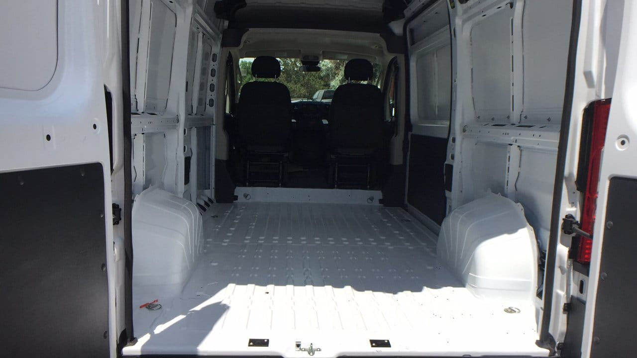 2018 ProMaster 1500 High Roof FWD,  Empty Cargo Van #15567 - photo 2