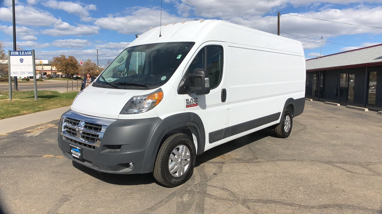 2018 ProMaster 3500 High Roof FWD,  Empty Cargo Van #15636 - photo 1