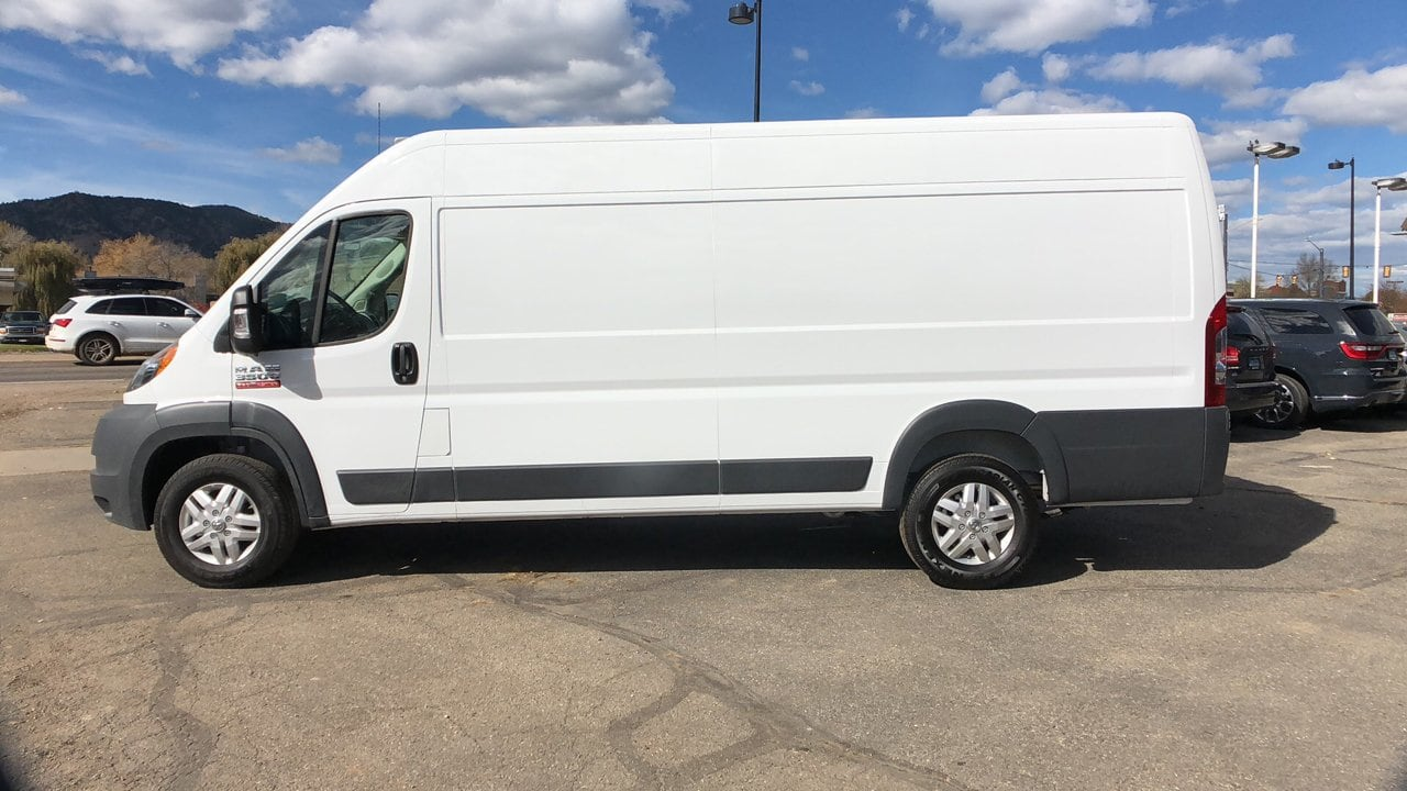 2018 ProMaster 3500 High Roof FWD,  Empty Cargo Van #15636 - photo 4