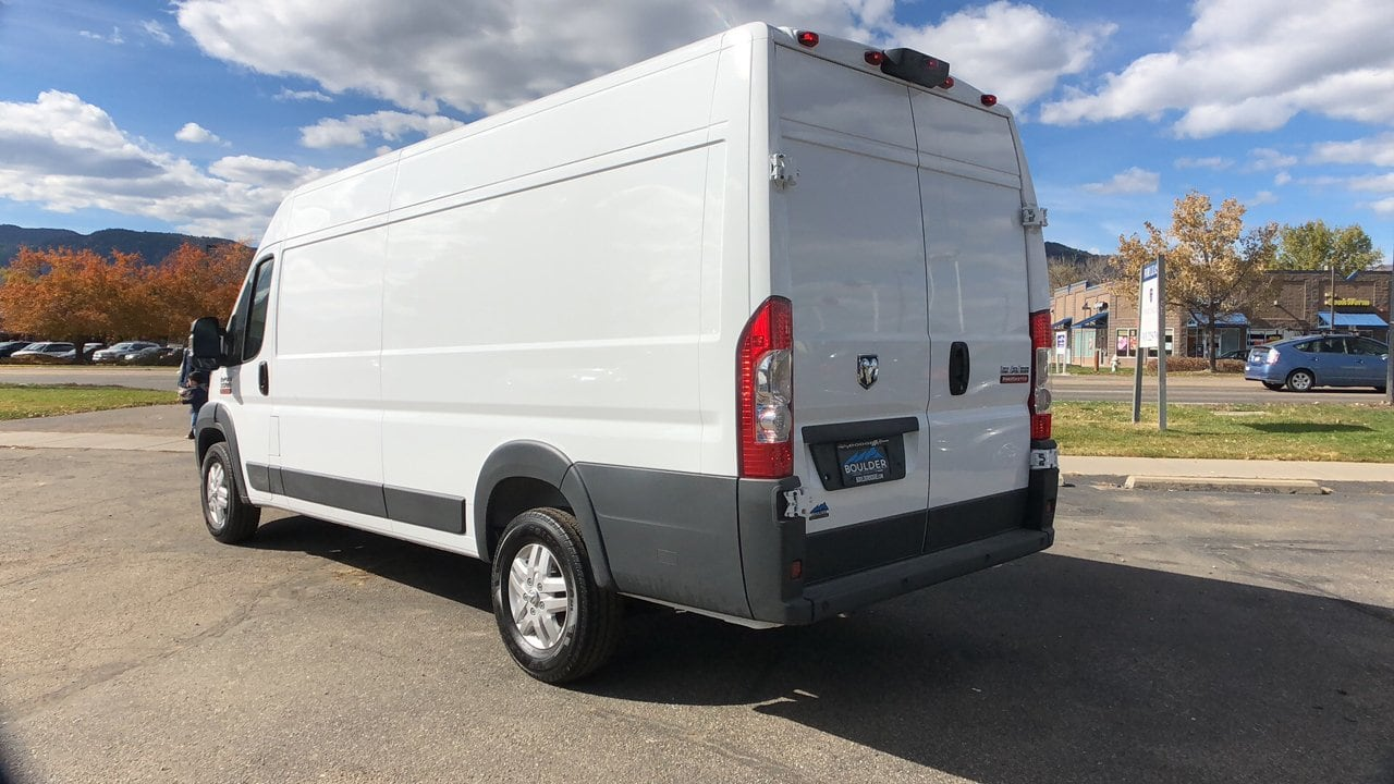 2018 ProMaster 3500 High Roof FWD,  Empty Cargo Van #15636 - photo 3