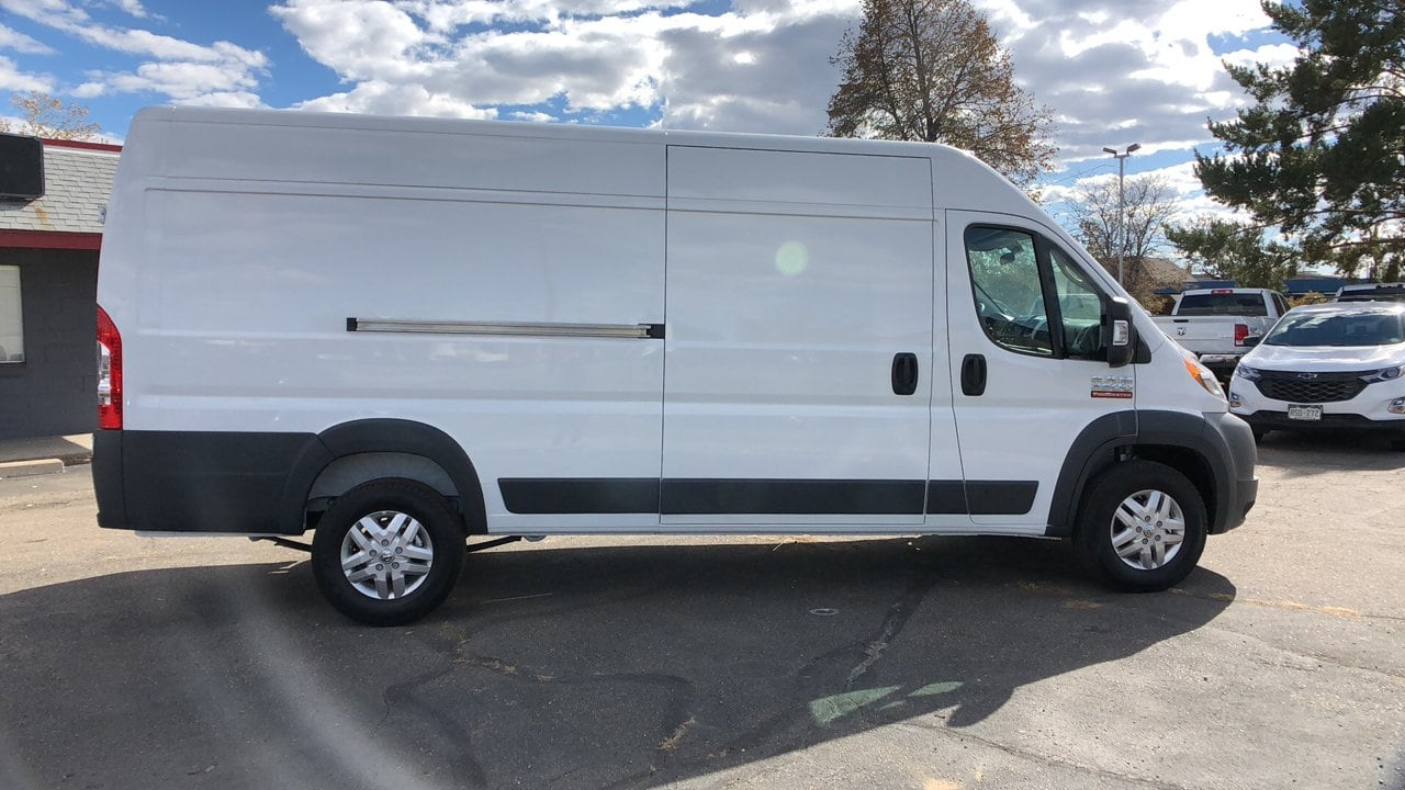 2018 ProMaster 3500 High Roof FWD,  Empty Cargo Van #15636 - photo 7