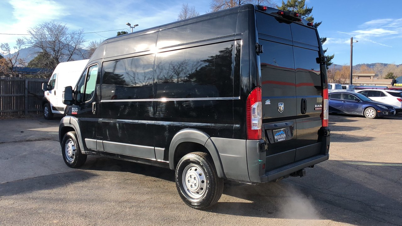 2018 ProMaster 1500 High Roof FWD,  Empty Cargo Van #15694 - photo 5