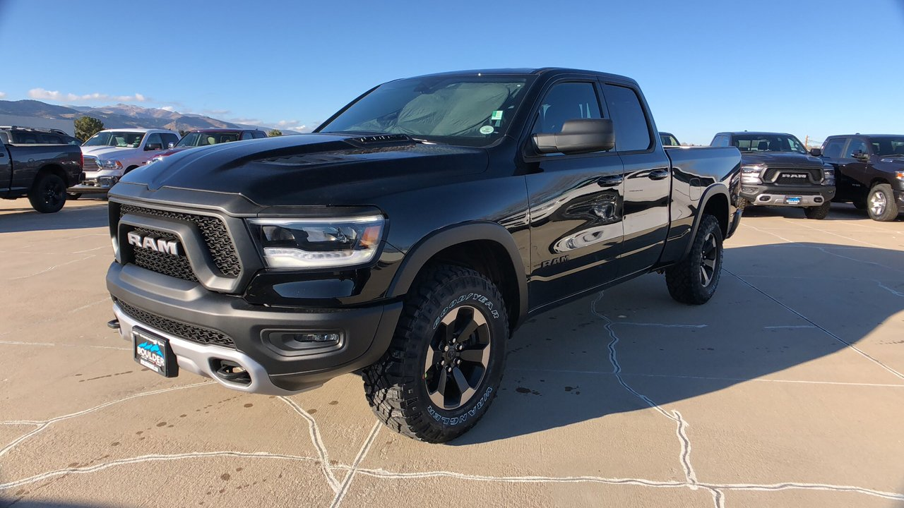 2019 Ram 1500 Quad Cab 4x4,  Pickup #15714 - photo 1