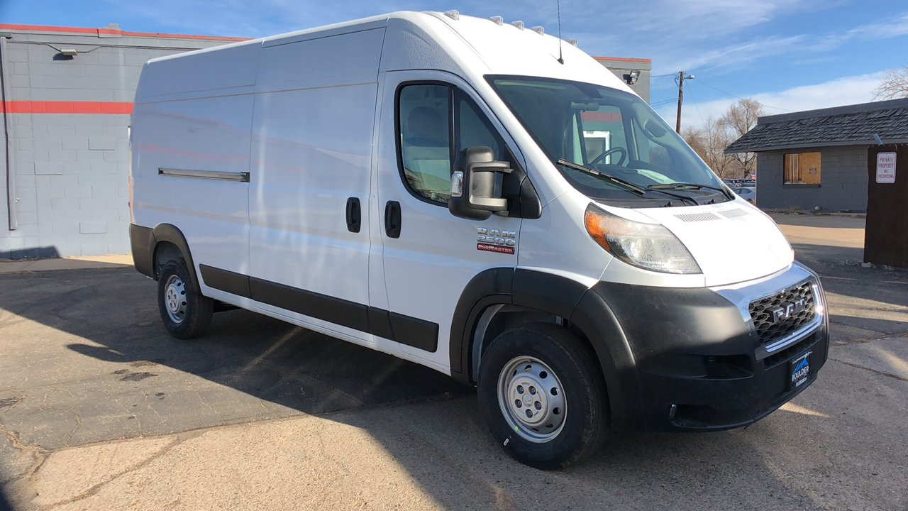 2019 ProMaster 2500 High Roof FWD,  Empty Cargo Van #15754 - photo 9