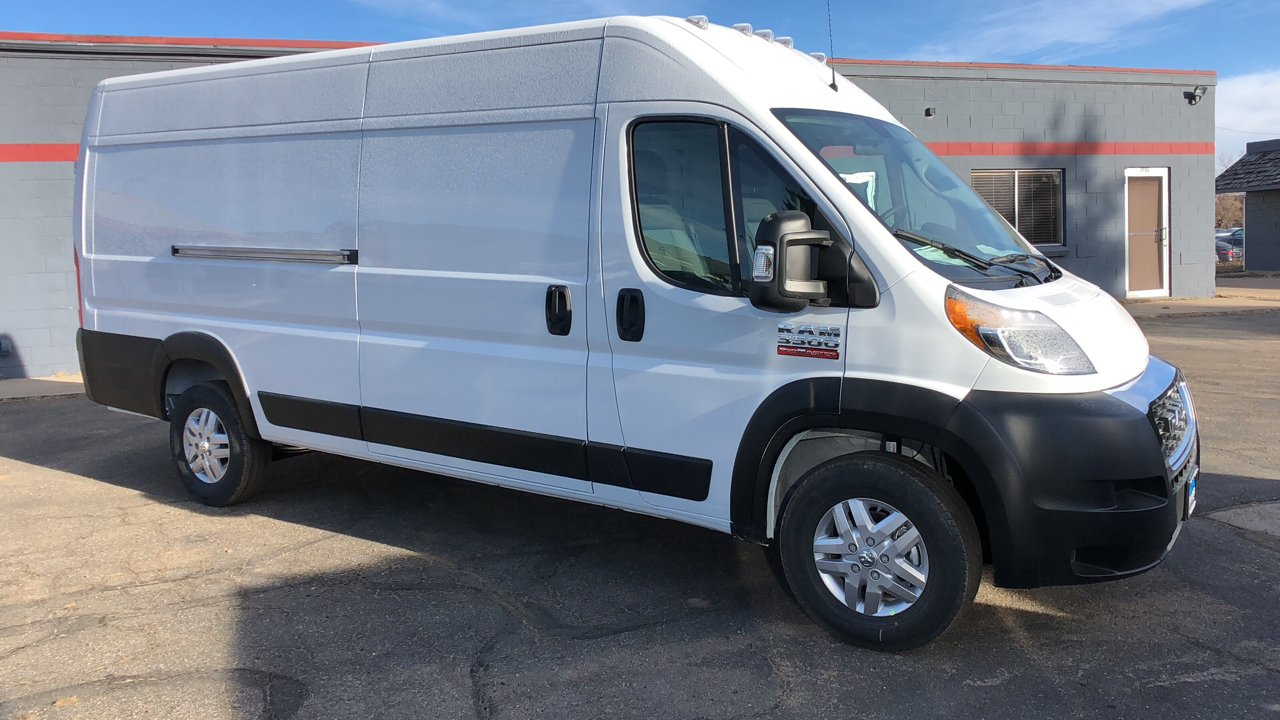 2019 ProMaster 3500 High Roof FWD,  Empty Cargo Van #15769 - photo 9