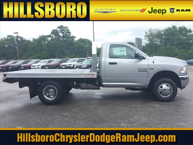 2018 Ram 3500 Regular Cab DRW 4x4,  Truck Craft Platform Body #R8024 - photo 1