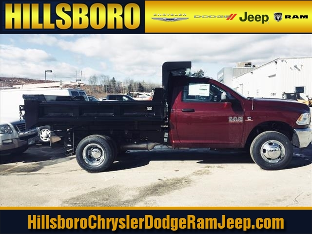 2018 Ram 3500 Regular Cab DRW 4x4, Hillsboro Dump Body #R8031 - photo 3