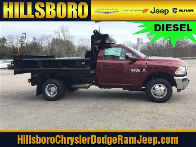 2018 Ram 3500 Regular Cab DRW 4x4,  Hillsboro Dump Body #R8031 - photo 1