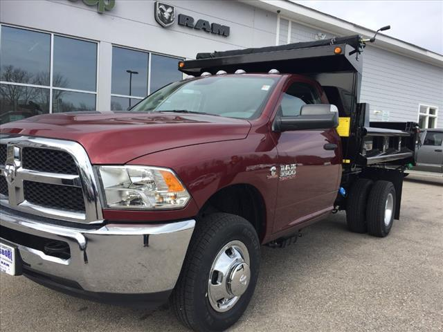 2018 Ram 3500 Regular Cab DRW 4x4,  Hillsboro Dump Body #R8031 - photo 9