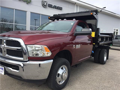 2018 Ram 3500 Regular Cab DRW 4x4, Hillsboro Dump Body #R8031 - photo 6