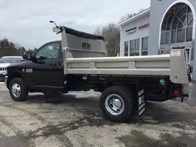 2018 Ram 3500 Regular Cab DRW 4x4,  Rugby Dump Body #R8032 - photo 8