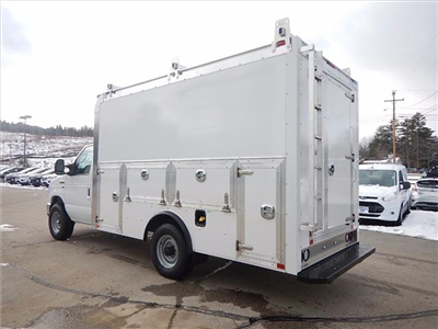 2018 E-350 4x2,  Dejana Truck & Utility Equipment DuraCube Max Service Utility Van #18056 - photo 4