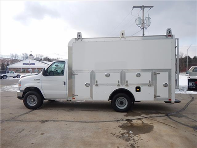 2018 E-350 4x2,  Dejana Truck & Utility Equipment DuraCube Max Service Utility Van #18056 - photo 5