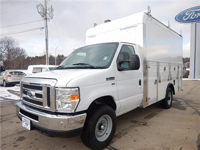 2018 E-350 4x2,  Dejana Truck & Utility Equipment DuraCube Max Service Utility Van #18056 - photo 6