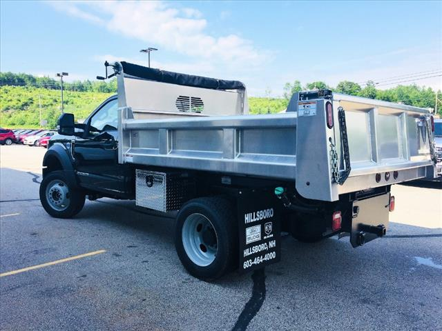 2018 F-550 Regular Cab DRW 4x4,  Rugby Dump Body #18096 - photo 4