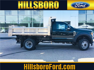 2018 F-550 Regular Cab DRW 4x4,  Rugby Eliminator LP Stainless Steel Dump Body #18096 - photo 1