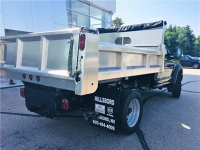 2018 F-550 Regular Cab DRW 4x4,  Rugby Eliminator LP Stainless Steel Dump Body #18096 - photo 2