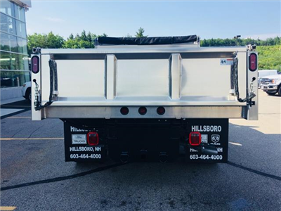 2018 F-550 Regular Cab DRW 4x4,  Rugby Eliminator LP Stainless Steel Dump Body #18096 - photo 3