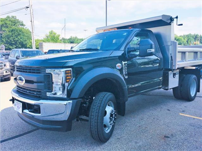 2018 F-550 Regular Cab DRW 4x4,  Rugby Eliminator LP Stainless Steel Dump Body #18096 - photo 6