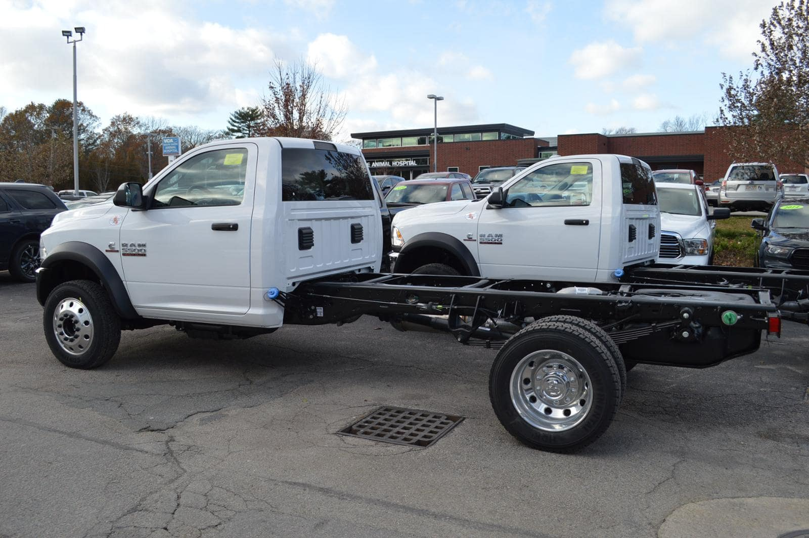 2018 Ram 5500 Regular Cab DRW 4x4,  Cab Chassis #18117 - photo 2