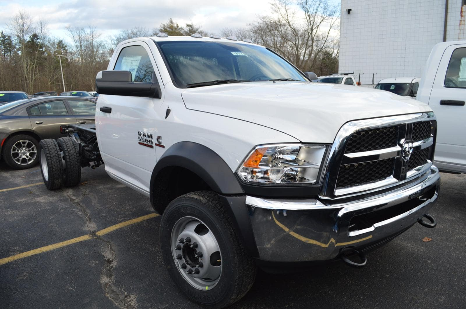 2018 Ram 5500 Regular Cab DRW 4x4,  Cab Chassis #18117 - photo 4