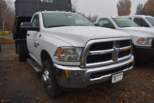 2018 Ram 3500 Regular Cab DRW 4x4,  Rugby Dump Body #18473 - photo 4