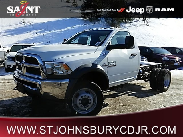 2018 Ram 5500 Regular Cab DRW 4x4, Cab Chassis #R8042 - photo 1