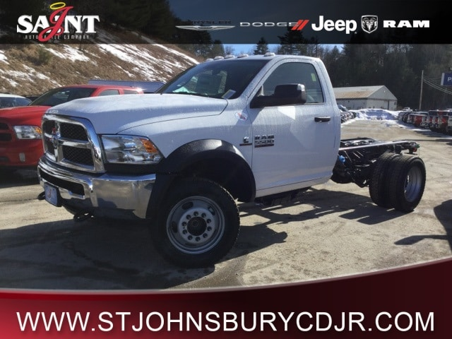 2018 Ram 5500 Regular Cab DRW 4x4, Cab Chassis #R8112 - photo 1