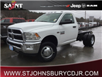 2018 Ram 3500 Regular Cab DRW 4x4, Cab Chassis #R8136 - photo 1