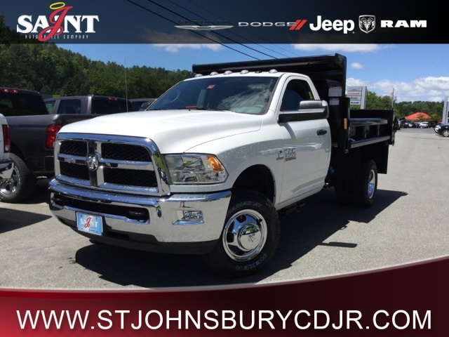 2018 Ram 3500 Regular Cab DRW 4x4,  Dump Body #R8168 - photo 1