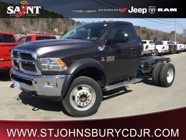 2018 Ram 5500 Regular Cab DRW 4x4,  Cab Chassis #R8175 - photo 1