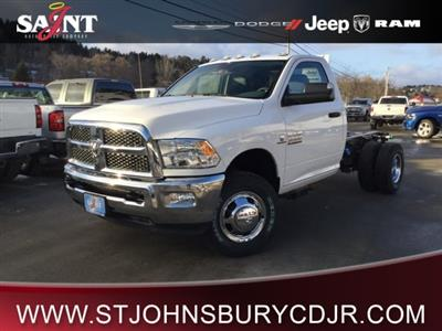 2018 Ram 3500 Regular Cab DRW 4x4,  Cab Chassis #R8298 - photo 1