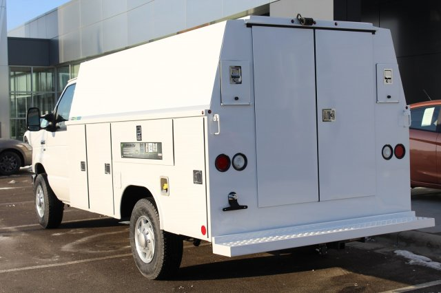 2018 E-350 4x2,  Reading Aluminum CSV Service Utility Van #M023180 - photo 3