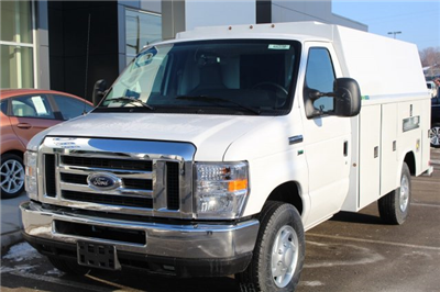 2018 E-350 4x2,  Reading Aluminum CSV Service Utility Van #M023180 - photo 1