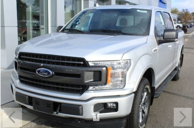 2018 F-150 SuperCrew Cab 4x4, Pickup #M023183 - photo 1