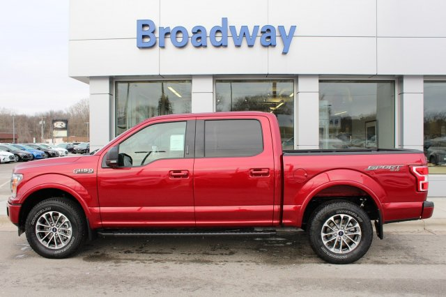 2018 F-150 SuperCrew Cab 4x4, Pickup #M023681 - photo 1