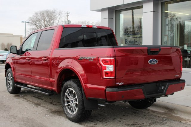2018 F-150 SuperCrew Cab 4x4, Pickup #M023681 - photo 2